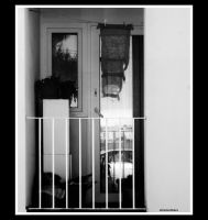 Balcony by slownumbers