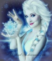 *elsa* by WelshAngelArt