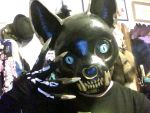 Cat Skull Mask finished! preview by aichan25