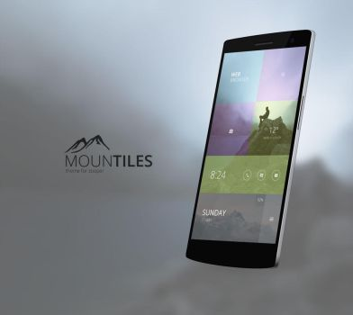 Mountiles Theme by marcco23