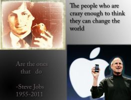 Steve Jobs by theduskoftwilight