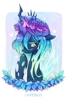 Floral Chrysalis by space-kid