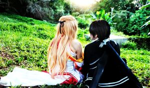 I will protect you, Asuna by Ruieien