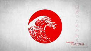 :: Pray for JAPAN :: by AliTalahi