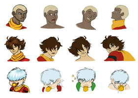 Cyborg 009: The Warrior, The Hero, The Mastermind by X-I-L2048