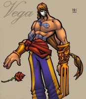 vega balrog colored by shalomone