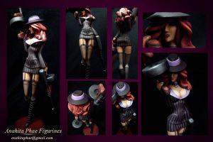 Mafia Miss Fortune Figures by AnahitaPhae