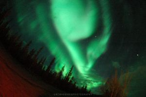 More Northern Lights by drewhoshkiw