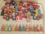 Bath  body works hand sanitizer collection by legoocoolguy