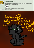 Question 1- Ask Holly,Jay, and Lion by XAngelkittehX