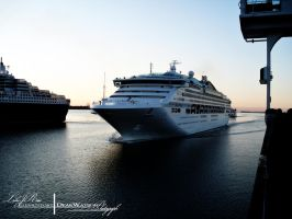 Arrival At The Port. by ElementaryDearWatson