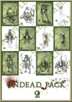 Undead pack 2 by Kimagu