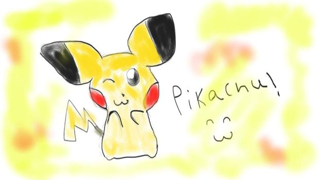 Pikachu! by Rainbow-Flames