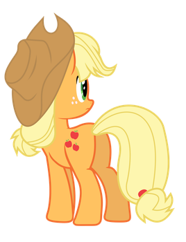 Applejack by zomgmad