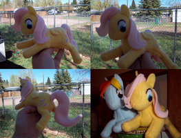 Fluttershy Plush by Miiroku