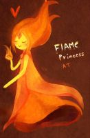 The flame princess by RiceDumplings