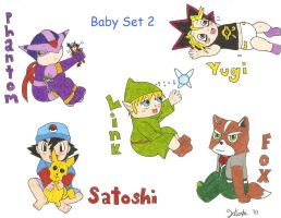 Baby Set 2 by kuri-loves-curry