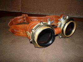 Steampunk Goggles by Kayne314