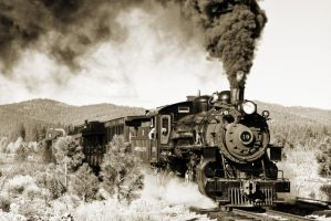 Antique Train by SonjaPhotography