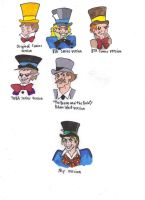 Different Styles of Mad Hatter by KessieLou