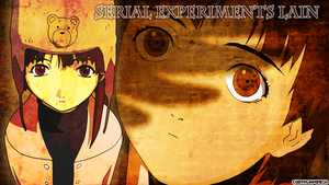 Serial Experiments Lain Wallpaper by cuentajaponesa