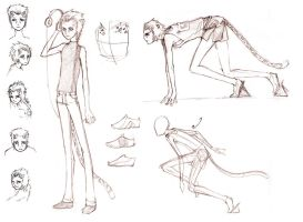 Cody Sketches by BethanyRoot