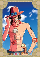 Portgas D. Ace - One Piece by xxJo-11xx