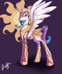 Celestia wearing a sexy armor by Dragk