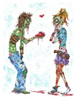 Zombie Love by Redundantthoughts