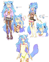Design For Sale: Blue Woof (SOLD) by Costly