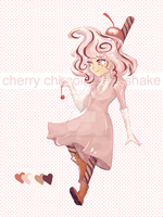 { a: Cherry Cocoa Shake }[DISCOUNT] by SweetMacaronAdopts