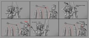 Skyrim Comic: Must be the wind by Daolpu