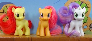 My Little Pony - The Cutie Mark Crusaders - toys by Wes-the-Crayon