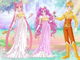 Moon Sisters and the Sun Prince by LadyIlona1984