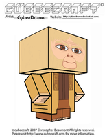 Cubeecraft - Dr. Zaius by CyberDrone