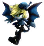 .:AT with AlexRockCat:. --Edward the Demon-- by fangirl-sonicteam