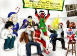 Unlikely band: Happy New year and belated X-mas!!! by Omnipotrent