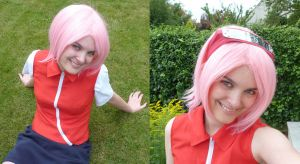 sakura haruno cosplay by Bleach-Fairy