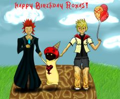 Happy Birthday Roxas by vvmasterdrfan