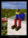 Lonely Lego - Carpark by timbo