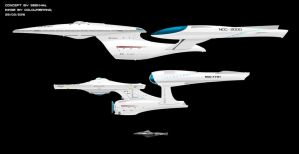 The Endeavour, The Enterprise, and The Saratoga by Colourbrand