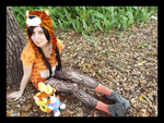 (Crash Bandicoot) Pura the Tiger Cosplay #2 by KrazyKari