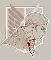 Erwin Smith by Piku-chwan