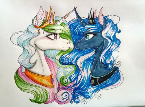 Sisters by TessiFromTheMoon