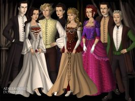 PotO musical characters by DaughterGothel
