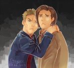 Dean and Sam by staypee