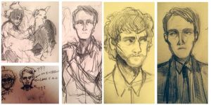 hannibal sketches (27/09/15) by liiubov
