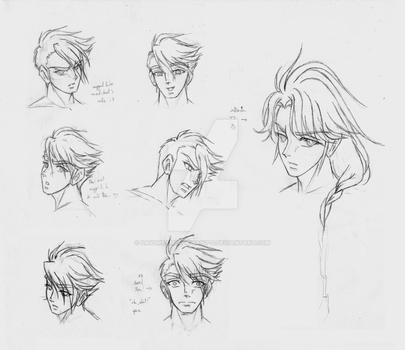 Caius' expression guide (and wiz) by Dreyce