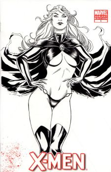 Goblin Queen - Sketch Cover Commission by Marc-F-Huizinga