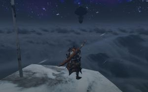 MonHun - Top of the mountain by Foxzone91